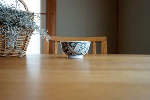 砥部焼/「小さな森」お茶碗(小)/森陶房kaori
