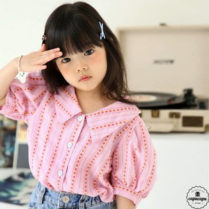 «sold out» bubble kiss bongbong blouse ボンボンブラウス