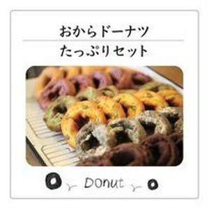 【A①-ドーナツ】おからドーナツたっぷりセット