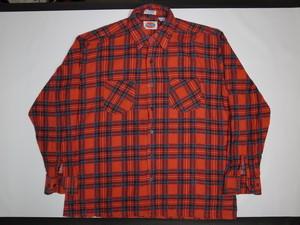 70's Dickies プリントネルシャツ Printnel Shirts