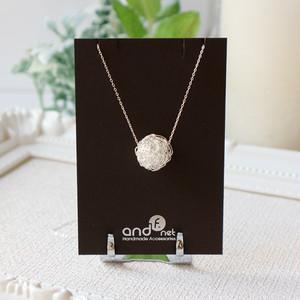 [silver999] クロッシェ(大)ネックレス