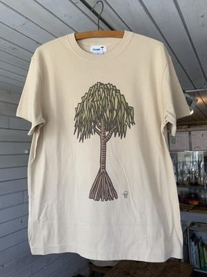 HALA Tシャツ M beige 【5th ANNIVERSARY limited edition】