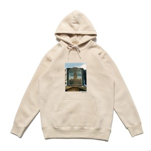 CHRYSTIE NYC / QUINTIN DE BRIEY PHOTO PULLOVER SWEAT EMPIRE STATE BUILDING -CREAM-