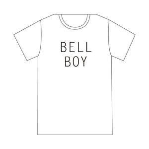 【Tシャツ】オフィシャルTシャツ(BELL BOY / WHITE)
