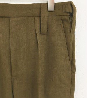 British army : barrack pants (dead stock)