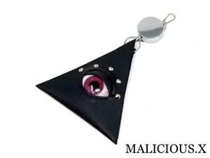 eye pass case / magenta(safiano)