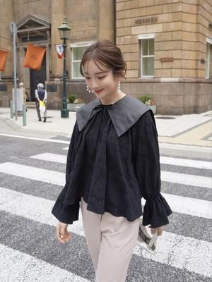 leather like collar / black 9/29 21:00 ~ 再販 (即納)