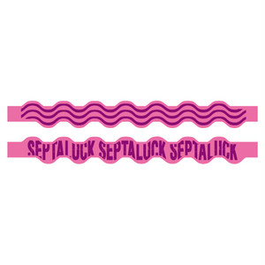 SEA WAVE RUBBER BAND  Pink