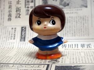 愛媛相互銀行/女の子☆ ソフビ貯金箱