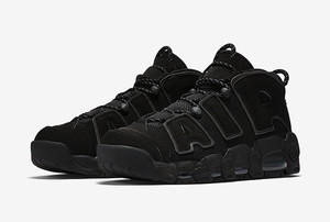 Nike Air More Uptempo Black Reflective 2017