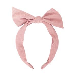 H1447P Vintage Tie Headband Pink
