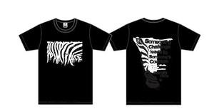 TEAM A☆H☆O ナミブ砂漠レースTシャツ(ブラック)