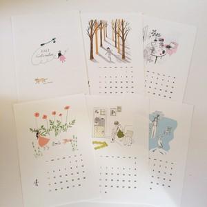 2021年 大塚砂織 カレンダー