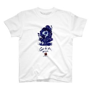 アマビエちゃん(青)Tシャツ