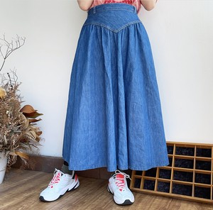 old Vdesign denim skirt