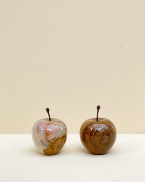 Marble Apple Stripe or Brown / Sサイズ (送料税込)