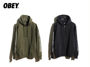 OBEY|ROUGH DRAFT ZIP FLEECE