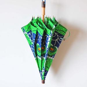 Bon Bon Store アフリカンバティック長傘(桜 004)