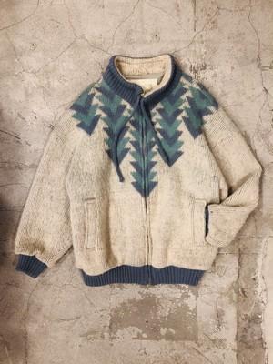 """""""ICE MART"""" vintage new wool jacket"""