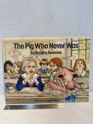 70's The  Pig Who  Never Was by Nanette Newman