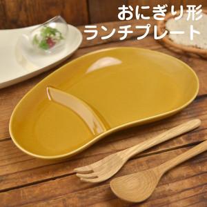 【日本製・美濃焼】おにぎり形ランチプレート