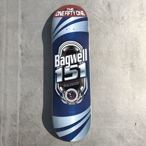 151skateboards / BAGWELL PRO MODEL / TALL BOY / 8.75×32.5inch / (22.225×82.55cm)