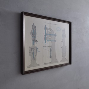 Picture Frame / ピクチャー フレーム 〈インダストリアル・図面〉2806-0190
