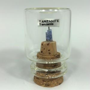 タンザナイト タンザニア産 宝石の森シリーズ ガラスボトルジュエリー bs083