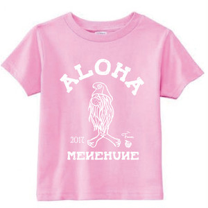[KID] MENEHUNE TEE NMC x the Fanon SPECIAL EDITION -PINK-