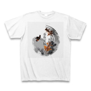 金魚宝房ロゴTシャツ(ホワイト)