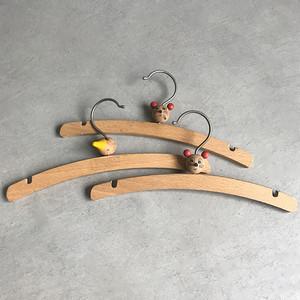 木製 子供用動物ハンガー 3点まとめて