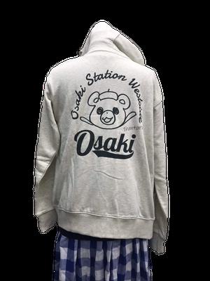 大崎駅西口商店会公式パーカー2019