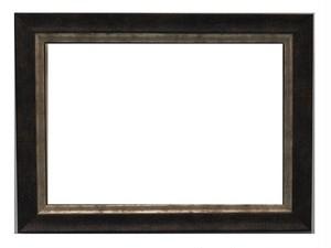 額縁アンティークおしゃれフレーム12-3051(茶/銀) 額縁寸法152mm×107mm 窓枠寸法142mm×97mm 2mmアクリル/裏板付/ /壁掛け用/箱なし/卓上用スタンドは、付いておりません