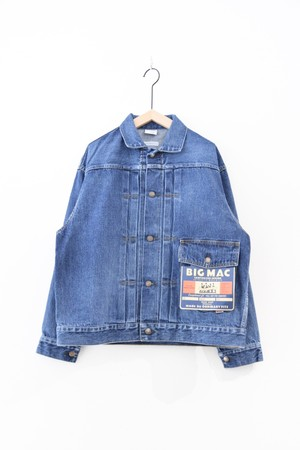 RESTOCK【BIG MAC × ORDINARY FITS】DENIM JACKET USED
