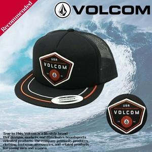 ボルコム キャップ 帽子 メンズ 人気ブランド 旅行 プレゼント かっこいい ワッペン ストリート 黒 ブラック VOLCOM D5521510