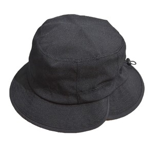 RAJABROOKE ASIA / NYLON CHAMBRAY HAT -BLACK-