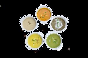 5種の手作り野菜ポタージュ
