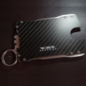 カードケース&ウォレット(財布) / 落ち着いたマットカーボン製