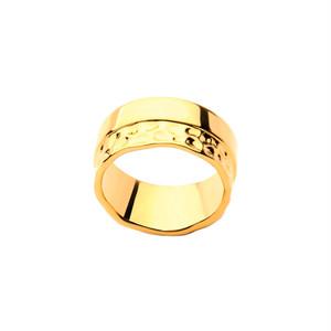 half texture ring