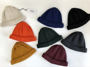 """再入荷""【RoToTo】Cotton Roll Up Beanie"