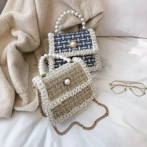 pearl tweed bag