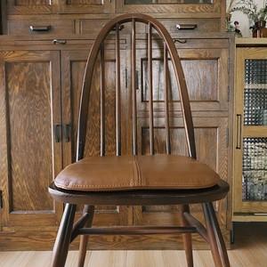 ERCOL Vintage Leather Chair Pad(アーコール チェアパッド)