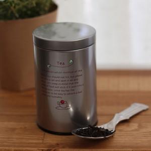 tea-ANDORRAオリジナル 茶葉保存缶