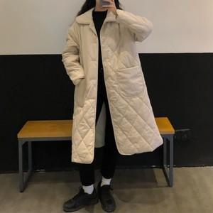 アバンギャルド コージー 清新 長袖 韓国ファッション 着回し力抜群  ダウンコート・アウター