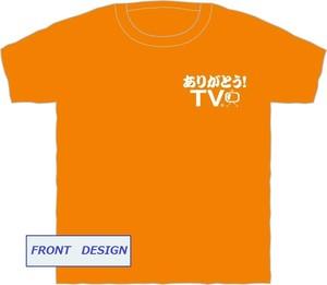 【ありがとう!TV】オリジナルTシャツ オレンジバージョン