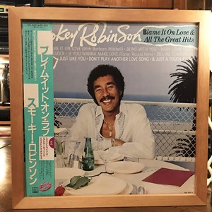 Smokey Robinson – Blame It On Love & All The Great Hits (LP)