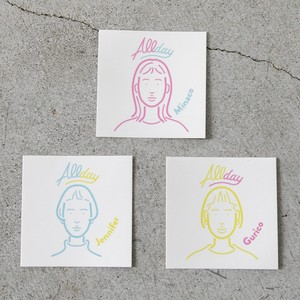 ALLDAY 3 STICKERS SET