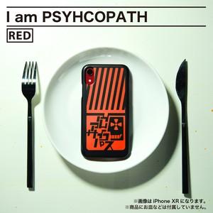 iPhoneハードケース[I am PSYHCOPATH / color:RED]