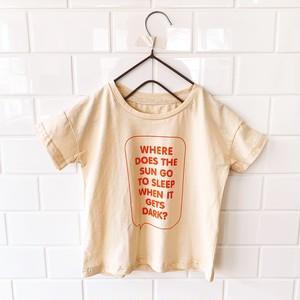 メッセージロゴTシャツ【19s01005】