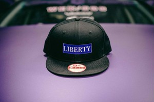 LIBERTY CAP NEWERA ブルー